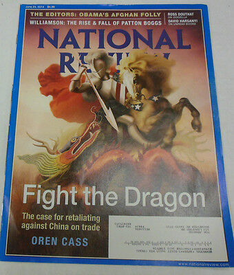 National Review Magazine Fight The Dragon June 2014 071814R