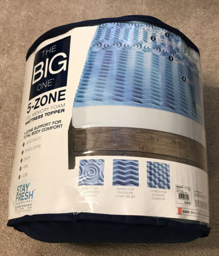 The Big One 1 1/2-in. Gel Memory Foam Mattress Topper
