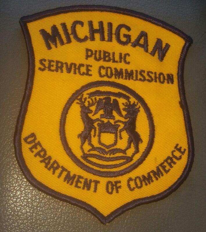 Michigan Public Service Commission Shoulder Patch EMPLOYEE UNIFORM new unused
