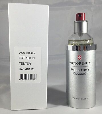 Swiss Army By Swiss Army 3.3 / 3.4 Oz EDT Spray Brand New Tester Cologne For Men