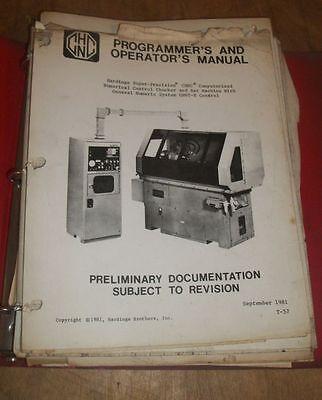 Hardinge Brothers Cnc Programmers Operators Manual