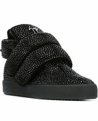 $2395 Authentic Rare GIUSEPPE ZANOTTI YEEZY Men's High Top Fashion Sneakers