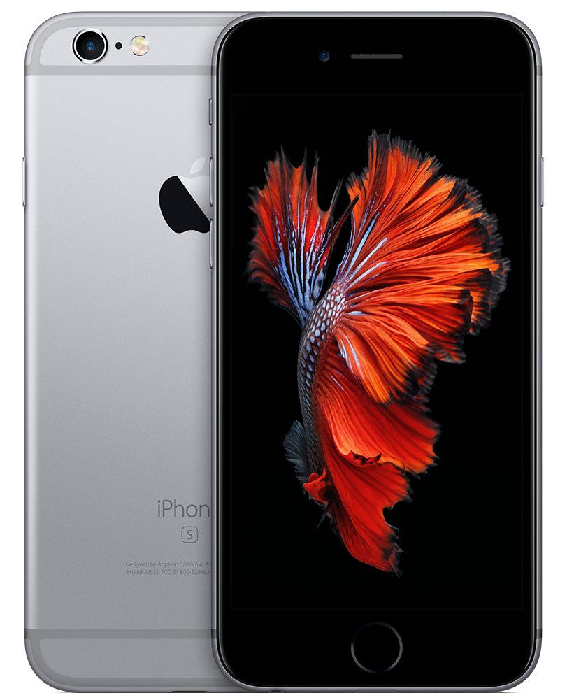 New Apple iPhone 6s Retina HD Display w/ 3D Touch 32GB Space Gray Simple Mobile