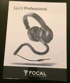 Focal Spirit Professional Headphones New And Never Used