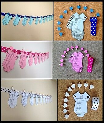 Baby Christmas Games (BABY SHOWER GAMES/Christmas Gift/ GIFT FOR MUM BUNTING BANNER GARLAND)