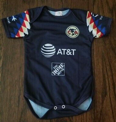 NEW Club America Baby Soccer Jersey Futbol Mexico Liga Mx (Club America Jerseys)