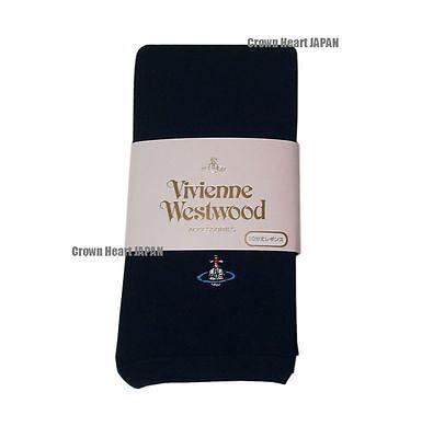 New Vivienne Westwood Japan Leggings Footless Black Japan licensed Orb Rare!