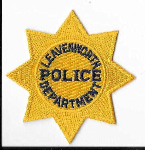 Leavenworth Police Department, Kansas Breast Patch V2