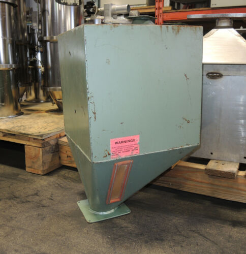 """Material Hopper 100 lb. Capacity 12"""" x 12"""", 20"""" Height - Steel Made"""
