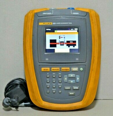 Fluke 830 Laser Alignment Measurement Tool Main Unit Only ***READ***