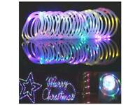 100 LED Fairy Rope String Lights - Battery Cable Operated 33FT
