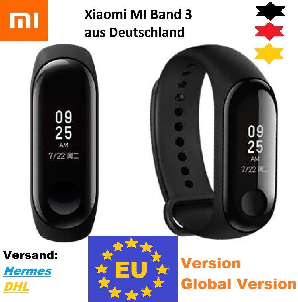 Xiaomi MI Band 3,Fitness Tracker,deutsch,Smartwatch,EU Version,50m Wasserdicht