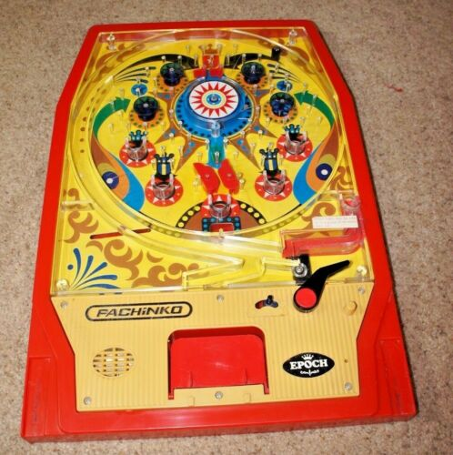 Vintage 1975 EPOCH Japanese Pinball SUPER PACHINKO Pinball Game
