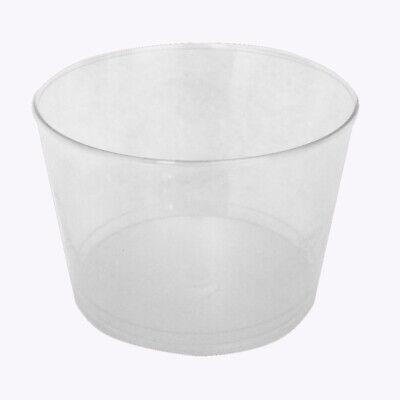 Eisbecher Dessertbecher Finger Food transparent Kunststoff PS 100 150 250ml