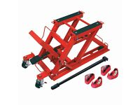 Wolf 400Kg Motorcycle Jack with Belts