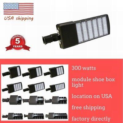 Led Parking Lot Light 50150200300w Module Street Pole Fixture Area Light