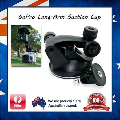 GoPro Hero 6 / 5 / 4 / Session / 3+ / 3 Suction Cup / Cap Mount Window Hero6