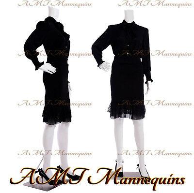 Female Display Mannequinstand Manequin Headless White Plastic Manikin-fb-11w