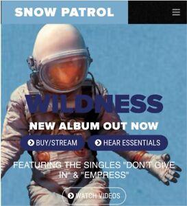 Snow Patrol Tickets - Vancouver
