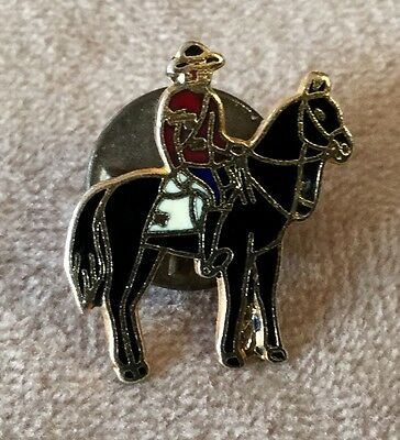 Horse And Rider Costumes (Equestrian Horse and Western Rider Costume Enamel Pin)