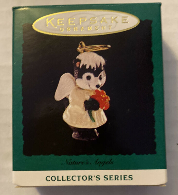New 1994 Hallmark Keepsake Ornament MINIATURE Nature