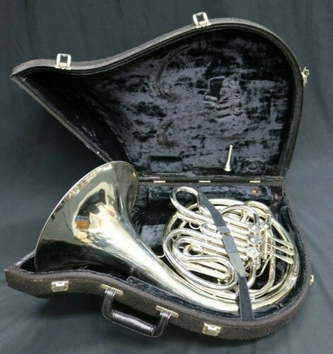 Holton H177 Bb-F Double French Horn, Serviced 11-24-2020 By Pros (Nice Player)