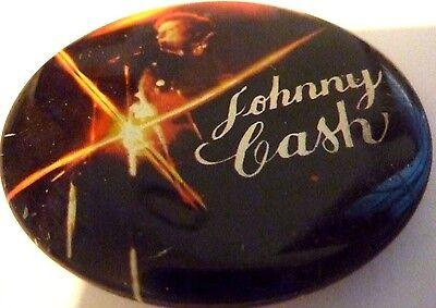 """JOHNNY CASH,  Vintage Metal  Badge 2 ½   """""""
