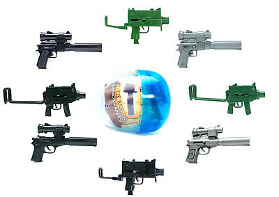 Miniature Spring Airsoft Machine Hand Gun Pistol 6MM BB Pellets 1 Random Toy (Airsoft Pellet Gun)