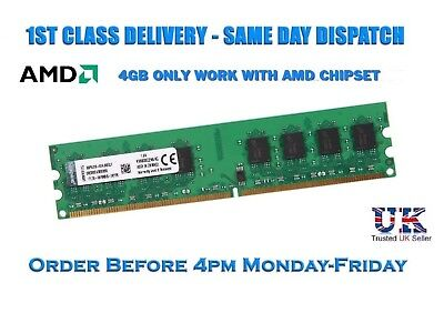 Kingston 4GB DDR2 800MHz 240PIN PC2-6400 DIMM for AMD CPU Motherboard Memory RAM