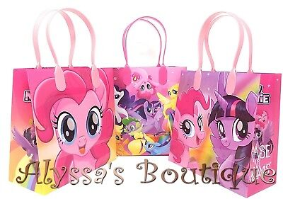 My Little Pony Goodie Bags (NEW! 12 pc My Little Pony Party Favor Goodie Bags Gift Birthday Treat Candy)
