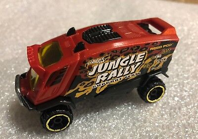 Jungle Pod (2015 Hot Wheels Aero Pod Jungle Rally Loose )