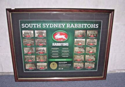 SOUTH-SYDNEY-RABBITOHS-DALLY-M-MEDAL HISTORY LIMITED EDITION