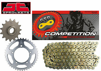 Yamaha YZF-R125 YZFR125 2008-2015 Gold Heavy Duty GTR Chain and Sprocket Kit Set