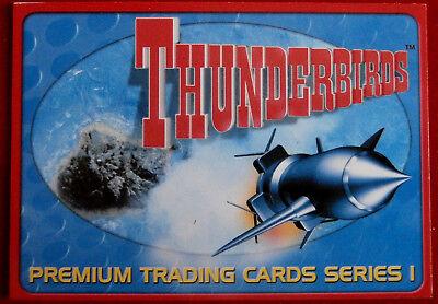 THUNDERBIRDS - Header Card - Card #01 - Cards Inc 2001 - Gerry Anderson