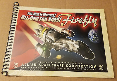 Firefly - Serenity Blueprints, A Loot Crate Exclusive Mini Book, Sealed NEW!! - Firefly Firefly Firefly