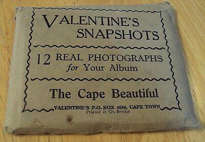 "RARE 1920's 12 Souvenir Photographs~""The CAPE BEAUTIFUL""~South Africa~"