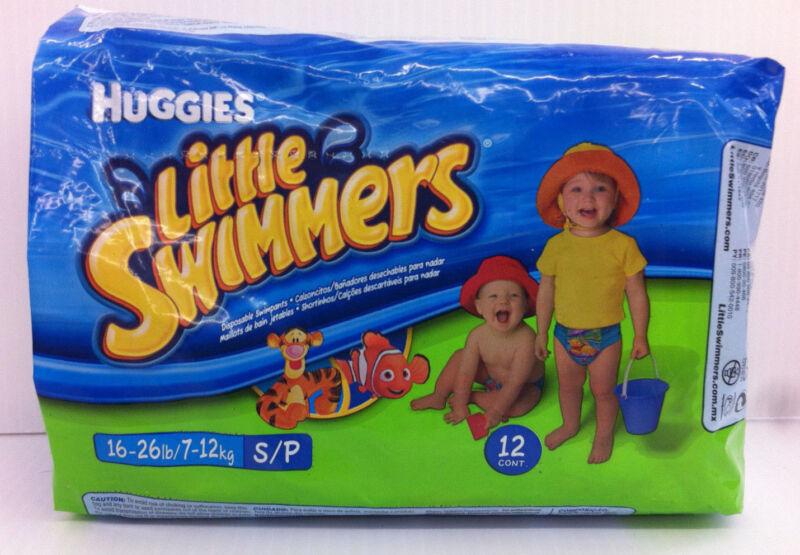 Huggies Little Swimmers Disposable Swimpants - Smalls - 12 Count - Tigger & Nemo