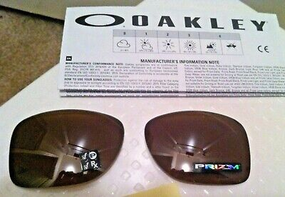 """OAKLEY """"Gauge 8"""" Brown Polarized PrizmLENSES AUTHENTIC *NEW* 57mm"""