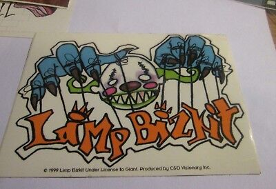 LIMP BIZKIT STICKER NEW 1999 VINTAGE OOP RARE COLLECTIBLE