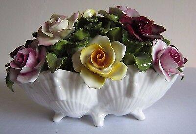 Vintage Aynsley Hand Modelled Hand Painted Porcelain Large Flowers, Rare -L@@L
