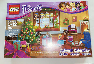 Lego Friends 41131 Advent Calendar 2016 - Incomplete Mini Figures Included Box