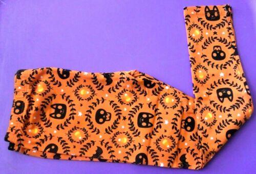 NWT Toddler Girls 18M, 24M, 5T HALLOWEEN Leggings Elastic Waist Pumpkin Bat