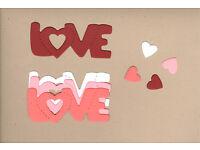 Mini Heart-H/&K Die Cuts AccuCut