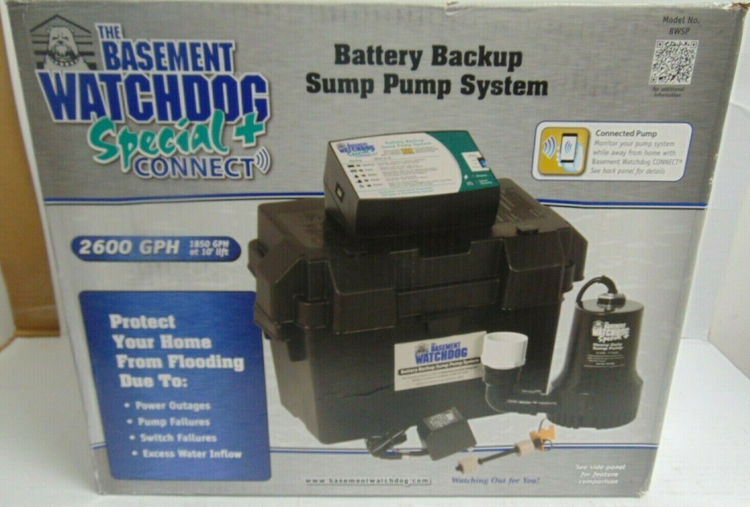 Basement Watchdog Special + Battery Back-Up Sump Pump System