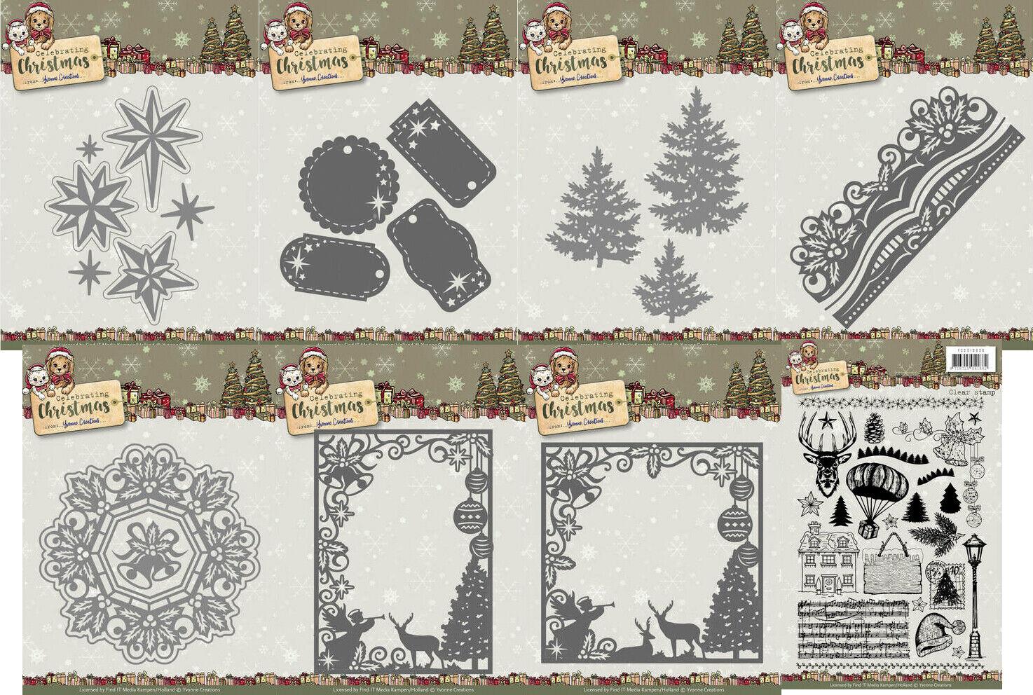 Find It Yvonne Creations Celebrating Christmas Die-Twinkling Star YCD10109