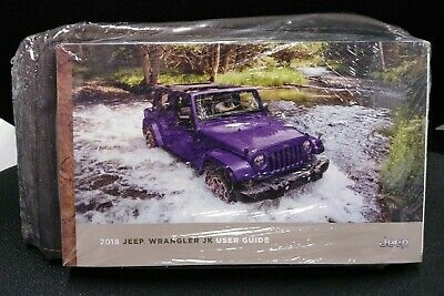 2018 JEEP WRANGLER JK OWNERS MANUAL NEW SEALED PACKET ()