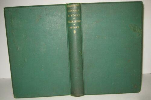 1867 🔥 HISTORY of FREEMASONRY_EUROPE_ANCIENT_SCOTTISH RITE_SYMBOLS_MYSTERY_MAGI