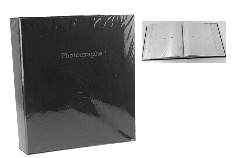 "Large Slip In Photograph Album Holds 140  5 x 7"" Photographs"