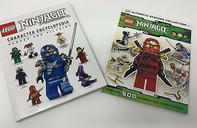 Lego Ninjago Character Encyclopedia And Ultimate Sticker Collection 500+