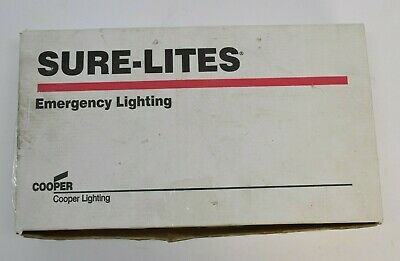 Cooper Lighting Sure-lites Exit Sign Single Or Double Face Lpx70dgwh Green